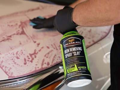 meguiars iron removing spray clay