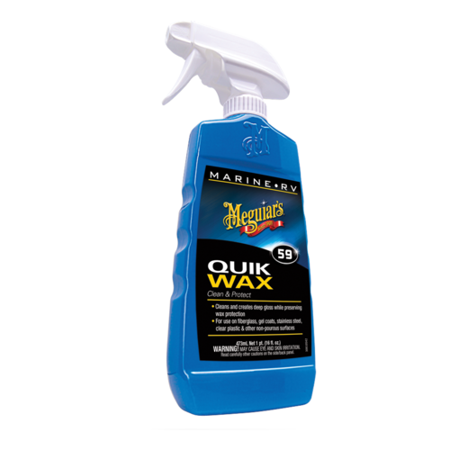 M5916 Быстрый воск для лодок - Meguiar`s Marine/RV Quik Wax® Clean & Protect Spray (473 мл.)