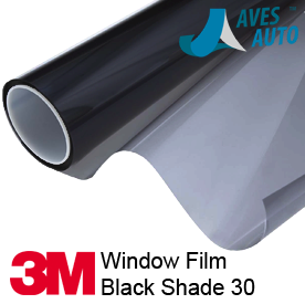 3M Window Films Black Shade 30
